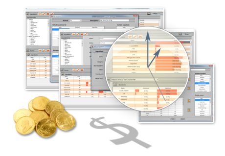 FEATURES Animal Feed Formulation Software